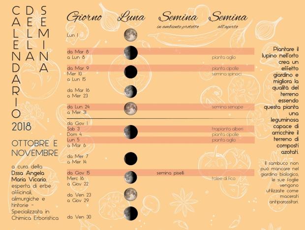 calendario della semina-autumn